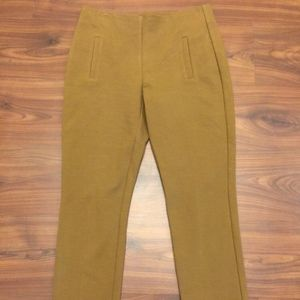 New CHICO'S Juliet Tobacco Brown Straight Pants 00